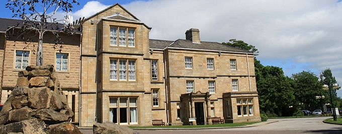 Westwood Hall, main building